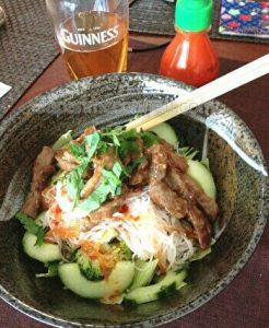 Japanese bbq salad