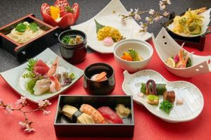 kaiseki, luxury Japanese cuisine