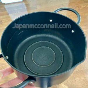 tempura nabe, a Japanese deep fry pot