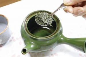 Cha saji, the special tea spoon