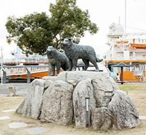 Taro and Jiro, Statues, Nagoya port, Nagoya, Japan, official website