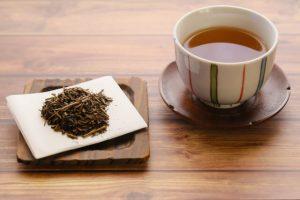 houjcha, hojicha, roasted Japanese green tea
