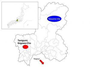 Ibigawa Cho, Ibigun, Gifu, Japan, Map
