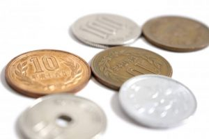 Japanese coins, currency