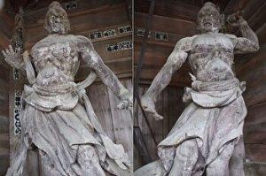 Nio statues, Tanigumisan, Kegonji, Gifu, Wiki