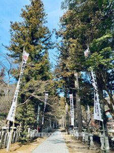 Tangumisan, Kegonji, Japanese temple, Gifu, the main path