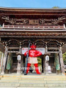 ninnou gate, Tanigumisan, Kegonji, Gifu, Japan