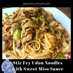 Rico's Yaki Udon Recipe