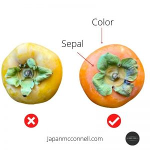 Shopping tips, persimmons