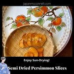 semi dried persimmons