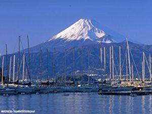 Fuji, Winter, MItsushima, Izu, Shizuoka, Japan
