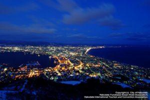 Hakodate, Night View, Top 3 night views in Japan, Hokkaido