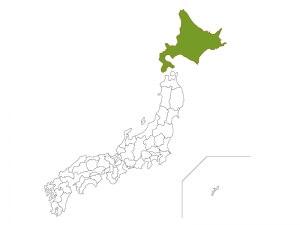 Hokkaido, Japan, Map