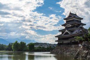 Matsumoto castle, Nagano, Japanese castle