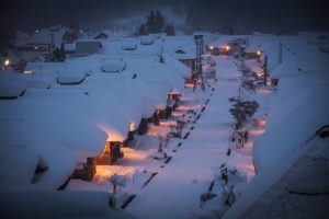 Ouchijuku, Fukushima, Winter, Japan