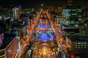 Sapporo, Winter Illumination, Japan