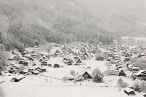 Shirakawa-Go, Gifu, Japan, Winter