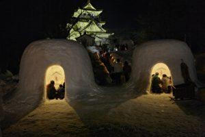 Yokote Snow Festival, Akita, Japan, Winter