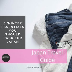 8 winter essentials for Japan trip