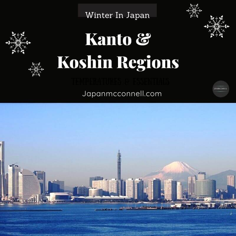 Kanto Koshin Regions in Winter