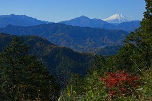 Mt Takao, Mt Fuji, the summit, mountains in Tokyo
