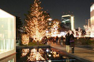 Tokyo MIDTOWN winter illuminations, Akasaka, Tokyo, Japan