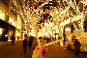 Tokyo Marunouchi Illuminaitons, winter illuminations in Tokyo