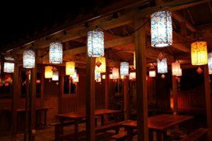 Yomitan Ryukyu Lantern Festival, Yomitan Town, Okinawa, Japan
