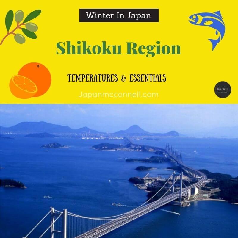 Shikoku Region in Winter