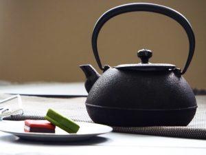 Nanbu tekki, Kyusu, Japanese cast iron Kyusu teapot, Tetsukyusu
