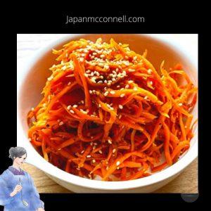 Kinpira, Japanese home cooking, Japanese food, the recipe, side dish