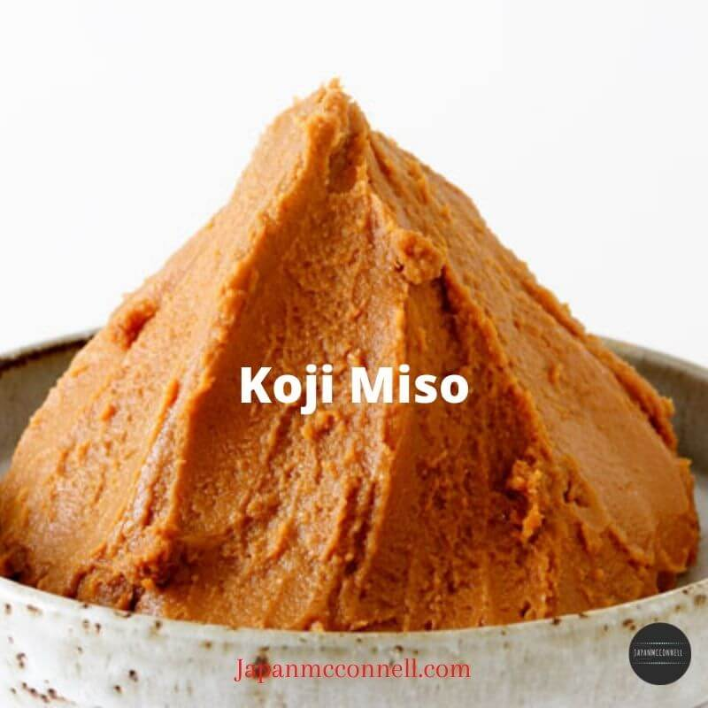 Koji miso, miso paste, Japanese food