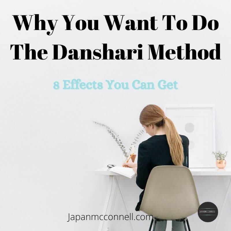 The effects of Danshari decluttering method, Japanese decluttering method